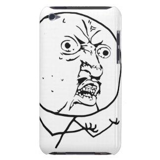 Y U inget komiskt ansikte för grabb iPod Case-Mate Cases