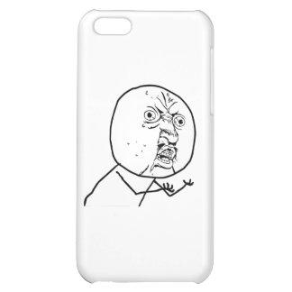 Y U INTE?? iPhone 5C MOBIL SKYDD