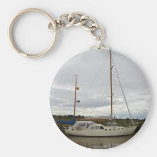 Yacht Aska Rund Nyckelring