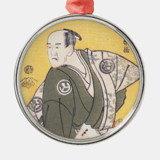 Yamashina Shirojuro i roll av Nagoya Sanzaemon Julgransprydnad Metall