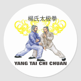 Yang Tai Chi Chuan Runt Klistermärke
