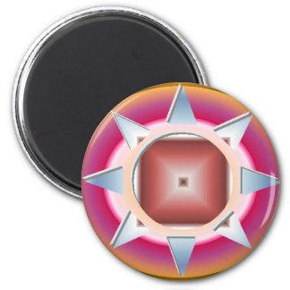 YANTRA 1.gif Magnet Rund 5.7 Cm