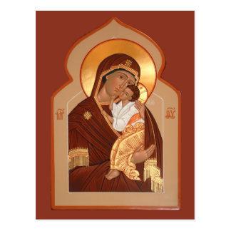 Yaroslavl mor av gudbönkortet vykort