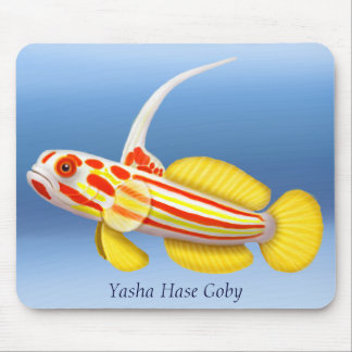 Yasha Hase räkaGoby Mousepad Musmatta