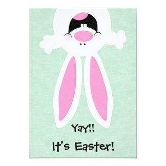 Yay! Det är påsken! Påskäggjaktinbjudan 12,7 X 17,8 Cm Inbjudningskort