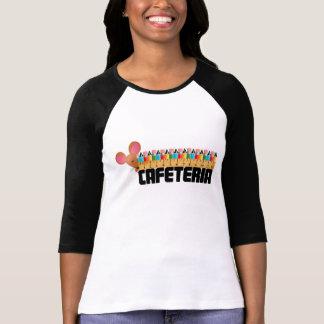 Yay för kafeteriadamerna tee shirt