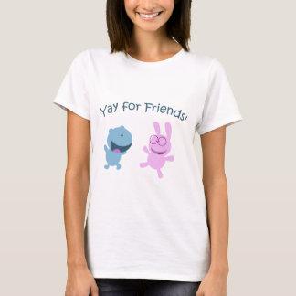 Yay för vänner! tröjor