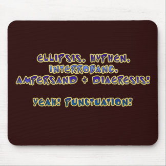 Yeah! Interpunktion! Musmatta