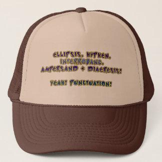 Yeah! Interpunktion! Truckerkeps