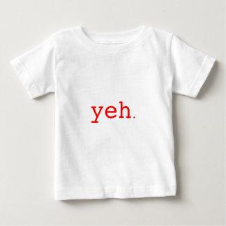 Yeh. Röda svart blått Tee Shirt