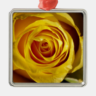 Yellow Rose Julgransprydnad Metall