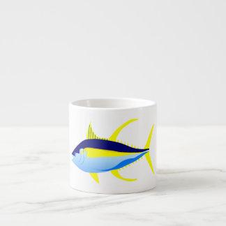 Yellowfintonfisk Espressomugg