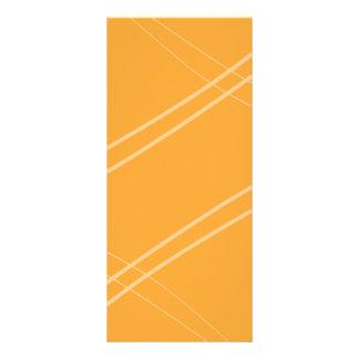 YellowOrangeInverted korsade Crissed Reklamkort