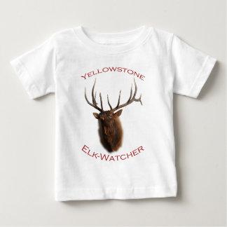 Yellowstone Älg-Iakttagare T-shirts