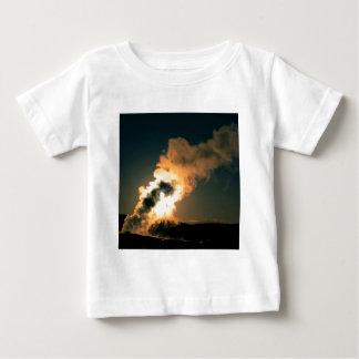 Yellowstone gammal trogen solnedgång Wyoming Tshirts