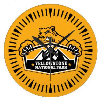 Yellowstone guld- björnklocka stor klocka