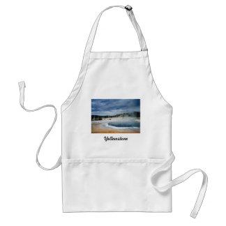 Yellowstone Hot Springs Förkläde