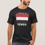 Yemen gjorde t-shirt
