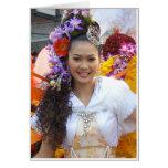 Yim Yai (det stora leendet) Hälsningskort