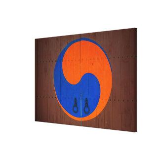 Yin och Yang symbol, Sydkorea Canvastryck