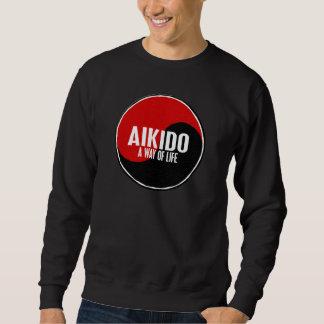 Yin Yang Aikido 1 Långärmad Tröja