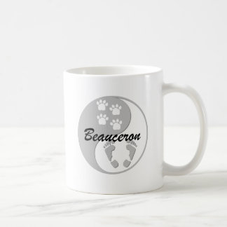 yin yang Beauceron Kaffemugg