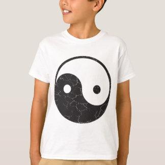 Yin Yang - bekymrad struktur Tshirts