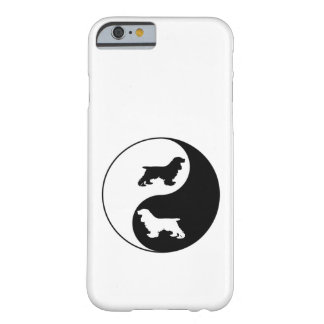 Yin Yang cockerspanielSpaniel Barely There iPhone 6 Fodral