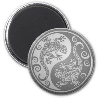 Yin Yang Geckos, rostfritt stål verkställer Magnet