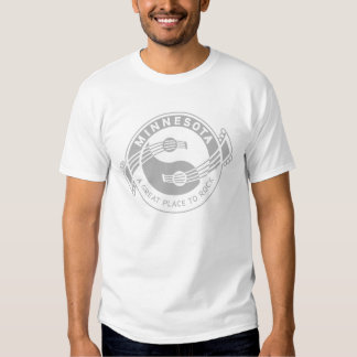 Yin Yang gitarrer Minnesota Tshirts