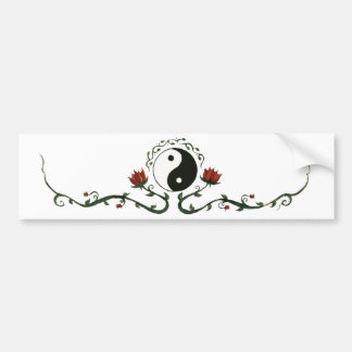Yin Yang i natur Bildekal