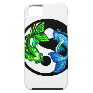 Yin-Yang Koi design iPhone 5 Fodral