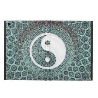 Yin Yang kricka Fodral För iPad Air