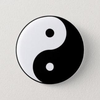 Yin Yang Standard Knapp Rund 5.7 Cm