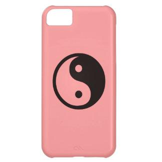 Yin-Yang symbol/laxrosor iPhone 5C Fodral