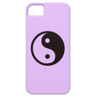 Yin-Yang symbol/lila iPhone 5 Hud