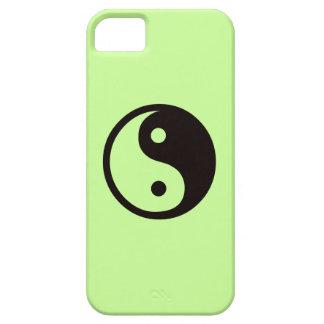 Yin-Yang symbol/melongrönt iPhone 5 Case-Mate Fodraler