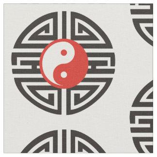 Yin & Yang Yantra tatuering + dina bakgrund & Tyg