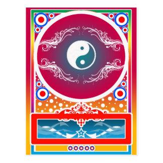 yinyang vykort