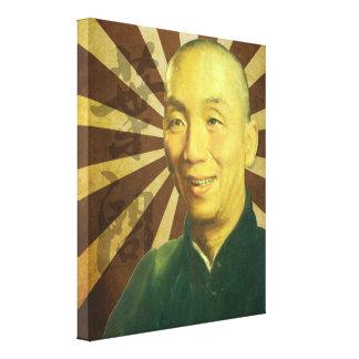 (Yip den ledar- enorma) tusen dollar manporträtt Canvastryck