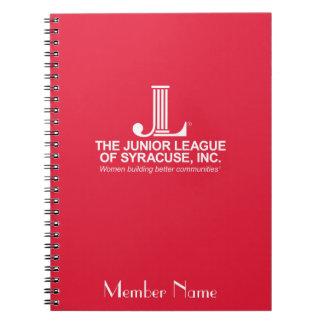 Yngre liga av den Syracuse anteckningsboken Anteckningsbok Med Spiral