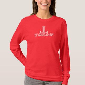 Yngre liga av den Syracuse långärmaden Tee Shirt