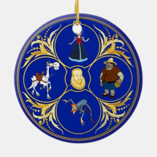 #YoEstrellaCervantes & planet Rund Julgransprydnad I Keramik