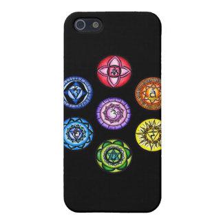 Yoga - energi för 7 Chakras iPhone 5 Cases