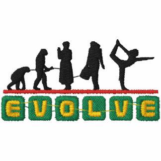 Yoga Evolve broderade kvinna långärmadskjortan