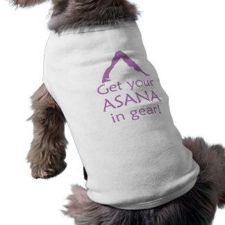 Yoga får din Asana utrustar in Husdjurströja