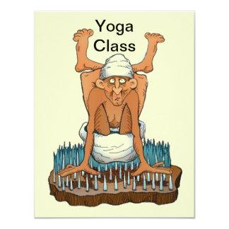 Yoga klassificerar inbjudan för studenter för
