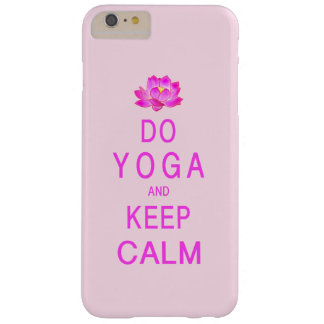 Yoga med lotusblommablomman barely there iPhone 6 plus skal