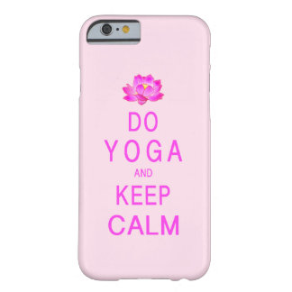 Yoga med lotusblommablomman barely there iPhone 6 skal