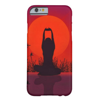 Yoga meditation, mode, kondition barely there iPhone 6 skal